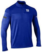 Under Armour Men's New York Giants Twist Tech Quarter-Zip Pullover