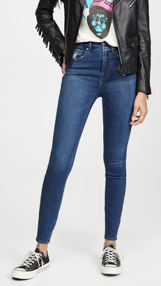 Good American Good Waist Jeans - Extreme V At Back