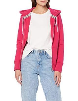 Superdry Women's Orange Label Classic Ziphood Hoodie,Small