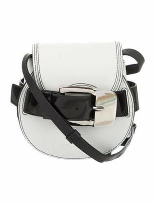 Proenza Schouler 2019 Mini Buckle Crossbody Bag White