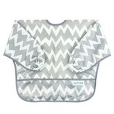 Bumkins Chevron Waterproof Long Sleeve Bib