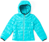Roper Turquoise Puffer Jacket - Girls