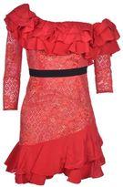 For Love & Lemons Ruffled Dress
