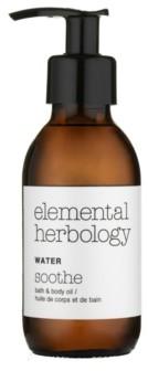 Elemental Herbology Water Soothe Bath Body Oil, 5 fl oz
