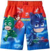 Toddler Boy PJ Masks Catboy, Owlette & Gekko Swim Trunks