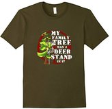 Men's My Family Tree Has a Deer Stand In It T-Shirt XL