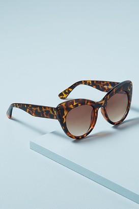 Ciara Cat-Eye Tortoiseshell Sunglasses