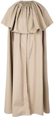 Adam Lippes Cape Sleeve Coat