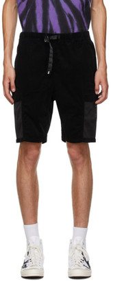 Neighborhood Black Gramicci Edition Solid Shorts