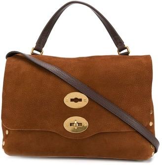Zanellato Postina studded tote bag