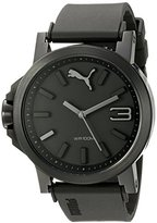 Puma Men's PU103462015 Ultrasize 45 Analog Display Quartz Black Watch