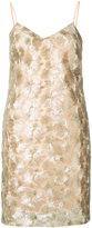 Trina Turk short embroidered dress - women - Polyester/Spandex/Elastane - 0