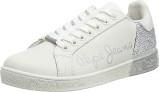 Pepe Jeans Women's Brompton Sequins Sneaker