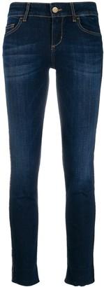 Liu Jo Sequin Stripe Skinny Jeans