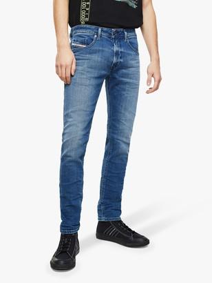 Diesel Thommer Slim Fit Stretch Jeans, Medium Blue 0097X