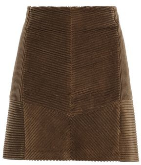 Brunello Cucinelli Cotton-corduroy Mini Skirt
