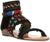 Carlos by Carlos Santana Tangier Three-Piece Pom-Pom Sandals