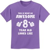 TeeStars - This Is What an Awesome 8 Year Old Looks Like Youth Kids T-Shirt