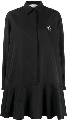 Valentino VLTNSTAR print shirt-dress