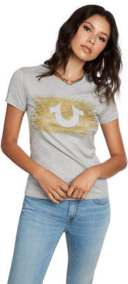 True Religion METALLIC U TEE