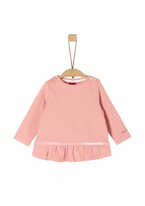 S'Oliver Baby Girls' 65.911.31.7726 Long Sleeve Top