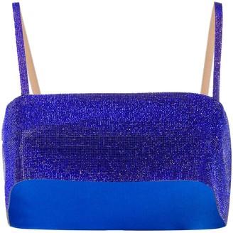 Nuè Crystal Embellished Vest