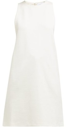 Marina Moscone Silk-blend Cady Tunic Top - Ivory