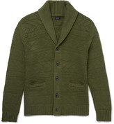 J.crew - Shawl-collar Knitted Cotton Cardigan