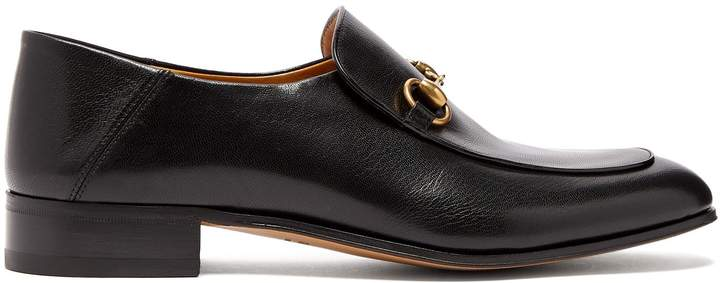 Gucci Mister New Horsebit leather loafers