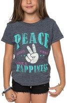 O'Neill Girl's Happy Vibes Tee