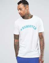 Asos T-Shirt With Hungover Print