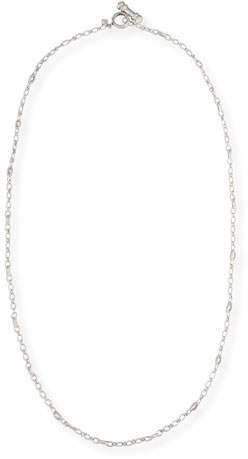 Armenta New World Cable Toggle Necklace