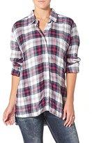 Silver Jeans Co. Women's Boyfriend Shirt with Side Slit