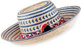 Guanabana Handmade Guajiro Hat with Pompoms