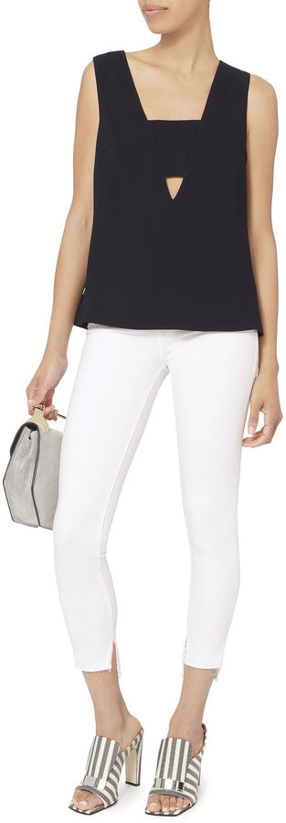 Exclusive for Intermix Kyomi Cutout Front Top