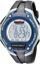 Timex Men's Ironman T5K528 Black Resin Quartz Watch with Digital Dial