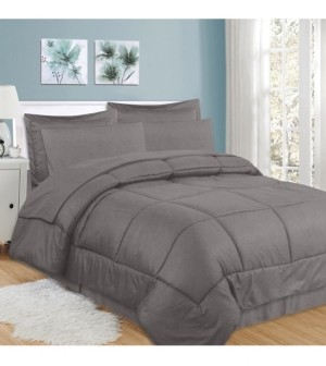 Sweet Home Collection Checkered 8-Pc. King Comforter Set Bedding