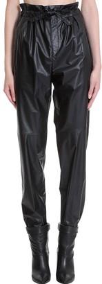 Isabel Marant Duard Pants In Black Synthetic Fibers