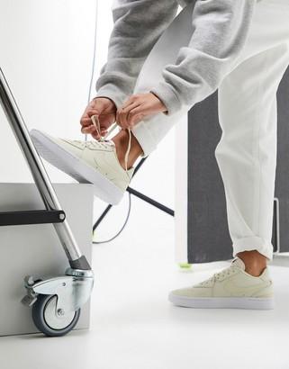 Nike Court Blanc cream Court sneakers