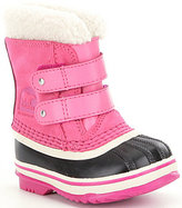 Sorel Kids Waterproof Cold Weather 1964 Pac Strap Girls' Boots