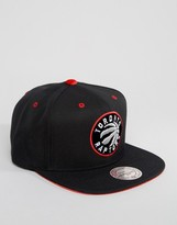 Mitchell & Ness Snapback Cap Velour Patch Toronto Raptors