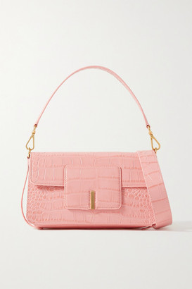 Wandler Georgia Croc-effect Leather Shoulder Bag - Pink