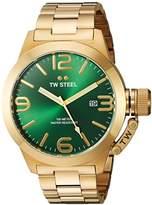 TW Steel Men's CB222 Analog Display Quartz Yellow Watch