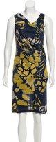 Piazza Sempione Sleeveless Printed Dress