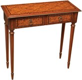 Sterling 6003328 Fraser Traditional Asian Hardwood Hand Painted Hall Table