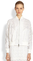 Luck Lace Bomber Jacket