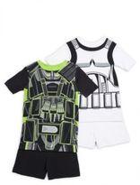 AME Sleepwear Little Boy's & Boy's Star Wars Two-Piece Tee & Shorts Set