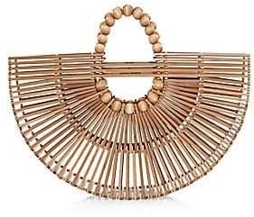 Cult Gaia Women's Bamboo Fan Bag