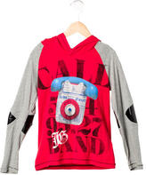 John Galliano Boys' Patch-Accented Hooded Sweatshirt