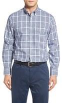 Nordstrom Smartcare Check Sport Shirt (Big)